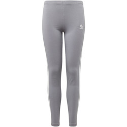 Textiel Meisjes Leggings adidas Originals 3-Stripes Legging Grijs / Wit