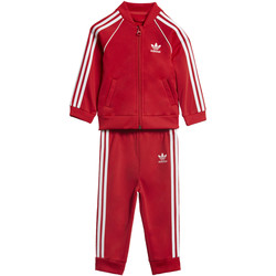 Textiel Kinderen Trainingspakken adidas Originals SST Trainingspak Rood