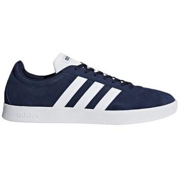 Lage Sportieve Sneakers Adidas VL Court 2.0 Blauw