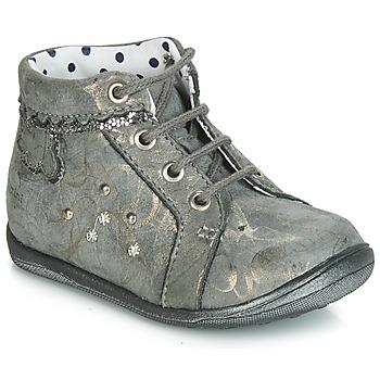 Schoenen Meisjes Hoge sneakers Catimini FANETTE Grijs