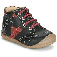 Schoenen Jongens Hoge sneakers Catimini GASTON Zwart / Rood