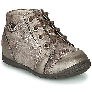 Schoenen Meisjes Hoge sneakers GBB NICOLE Taupe