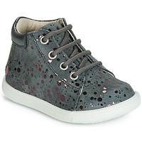 Schoenen Meisjes Hoge sneakers GBB NICKY Grijs / Roze