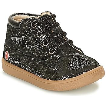 Schoenen Meisjes Hoge sneakers GBB NINON Zwart / Pailletten