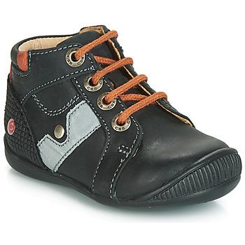 Schoenen Jongens Laarzen GBB REGIS Zwart / Oranje