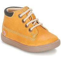 Schoenen Jongens Hoge sneakers GBB NORMAN Bruin / Mosterd