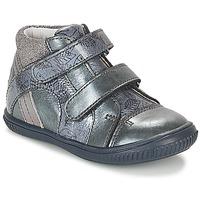 Schoenen Meisjes Hoge sneakers GBB ROXANE Blauw / Grijs