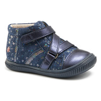 Schoenen Meisjes Hoge sneakers GBB NICOLETA Vte /  marine-pois / Dpf / Franca