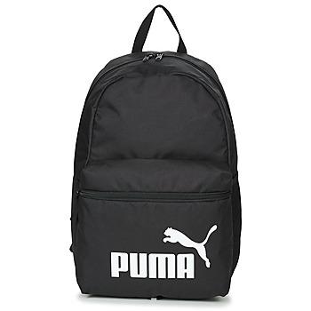 Tassen Rugzakken Puma PHASE BACKPACK Zwart