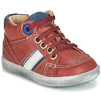 Schoenen Jongens Hoge sneakers GBB ANGELITO Bordeau