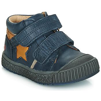 Schoenen Jongens Lage sneakers GBB RADIS Vte /  marine-ocre / Dpf / Linux
