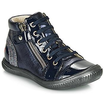 Schoenen Meisjes Hoge sneakers GBB RACHIDA Marine