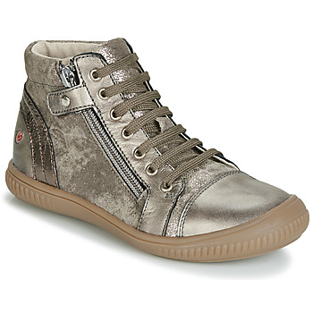 Schoenen Meisjes Hoge sneakers GBB RACHIDA Vtc / Taupe / Dpf / Franca
