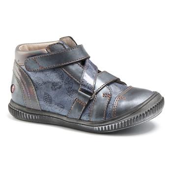 Schoenen Meisjes Hoge sneakers GBB RADEGONDE Vtv / Blauw / Gris+imp / Dpf / Franca
