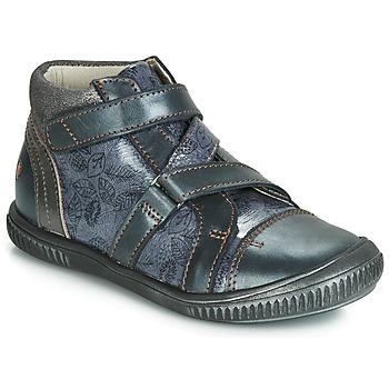 Schoenen Meisjes Hoge sneakers GBB RADEGONDE Blauw
