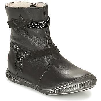 Schoenen Meisjes Laarzen GBB NOTTE Zwart