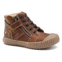 Schoenen Jongens Hoge sneakers GBB RAMBOUTAN Vte / Bruin / Dpf / Linux