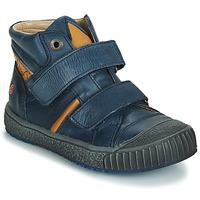 Schoenen Jongens Lage sneakers GBB RAIFORT Vte /  marine-ocre / Dpf / Linux