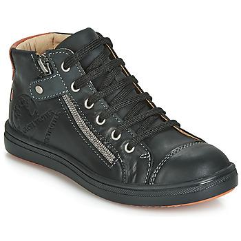 Schoenen Jongens Hoge sneakers GBB NICO Zwart