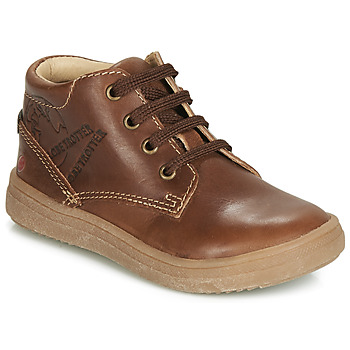 Schoenen Jongens Hoge sneakers GBB NINO Vte / Bruin / Dpf / 2835