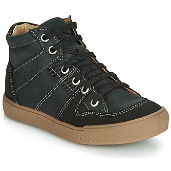 Schoenen Jongens Hoge sneakers GBB NEMOON Zwart