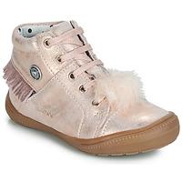 Schoenen Meisjes Hoge sneakers Catimini ROSALIE Vte / Roze / Poeder / Dpf / 2822