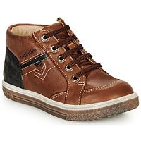 Schoenen Jongens Hoge sneakers Catimini PASCOU Bruin