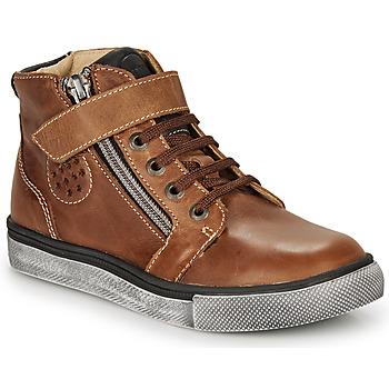 Schoenen Jongens Hoge sneakers Catimini TOBBY Bruin