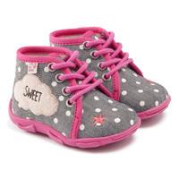 Schoenen Meisjes Sloffen GBB BUBBLE  ttx / Grijs - roze / Dtx / Amis