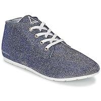Schoenen Dames Lage sneakers Eleven Paris BASGLITTER Zilver