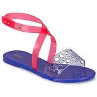 Schoenen Dames Sandalen / Open schoenen Melissa TASTY Blauw / Roze