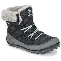 Schoenen Kinderen Snowboots Columbia YOUTH MINX SHORTY OMNI-HEAT™ WATERPROOF Zwart