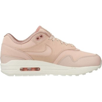 Schoenen Dames Lage sneakers Nike AIR MAX 1 PRM Rosa