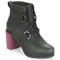 Schoenen Dames Enkellaarzen Sorel MARGO™ LACE Zwart