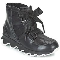 Schoenen Dames Snowboots Sorel KINETIC™ SHORT LACE Zwart