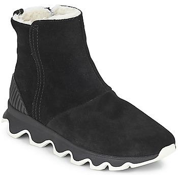 Schoenen Dames Snowboots Sorel KINETIC™ SHORT Zwart