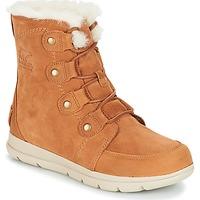 Schoenen Dames Laarzen Sorel SOREL EXPLORER JOAN Camel