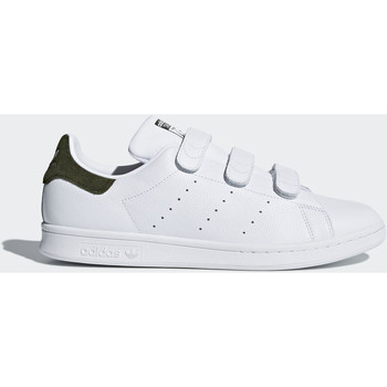 Schoenen Heren Lage sneakers adidas Originals Stan Smith Schoenen Wit / Wit / Bruin