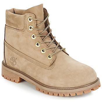 Schoenen Kinderen Laarzen Timberland 6 In Premium WP Boot Beige