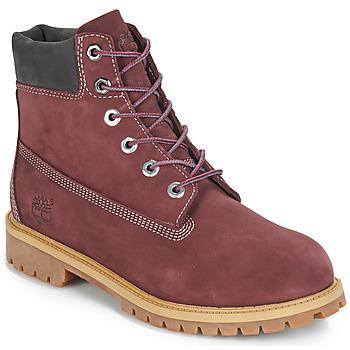 Schoenen Kinderen Laarzen Timberland 7 In Premium WP Boot Bordeau