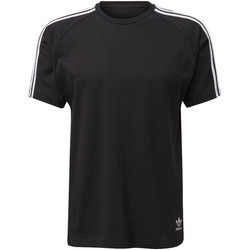 Textiel Heren T-shirts korte mouwen adidas Originals Curated T-shirt Zwart