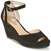 Schoenen Dames Sandalen / Open schoenen JB Martin QUASAR Zwart