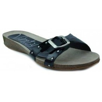 Schoenen Dames Sandalen / Open schoenen Vienty BIO PLANO CHAROL NEGRO