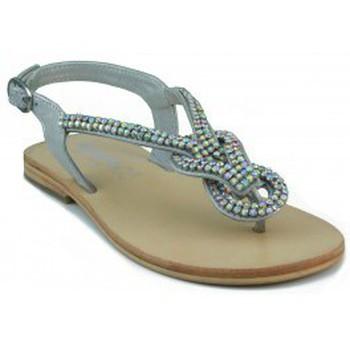 Schoenen Dames Sandalen / Open schoenen Oca Loca OCA LOCA ESCLAVA VALENCIA PLATA