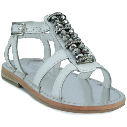 Schoenen Kinderen Sandalen / Open schoenen Oca Loca OCA LOCA  STRASS BLANCO