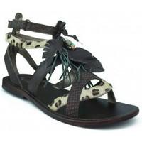 Schoenen Meisjes Sandalen / Open schoenen Oca Loca OCA LOCA  PIEDRAS MARRON