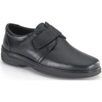 Schoenen Heren Derby Calzamedi SCHOENVOET DIABETIC M BLACK