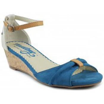 Schoenen Dames Sandalen / Open schoenen MTNG MUSTANG AFELPADO LONTA AZUL