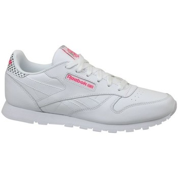 Schoenen Kinderen Lage sneakers Reebok Sport CL Leather Girl Squad Wit
