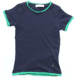 Textiel Kinderen T-shirts korte mouwen Manuel Ritz Junior MR0255 Blue